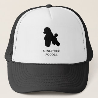 Miniature Poodle Trucker Hat