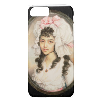 Miniature Portrait of a Girl iPhone 7 Case
