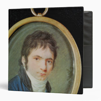 Miniature Portrait of Ludwig Van Beethoven , 1802 Vinyl Binders