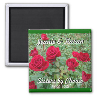 Miniature Roses-customize Magnet