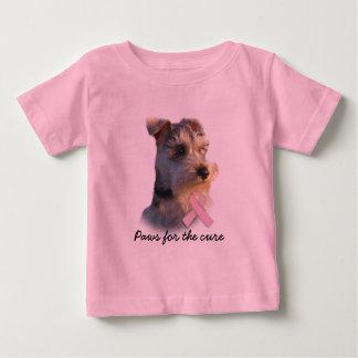 Miniature Schnauzer Breast Cancer  Toddler Shirt