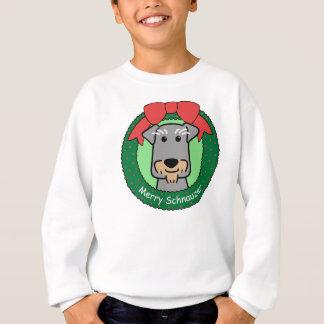 Miniature Schnauzer Christmas Sweatshirt