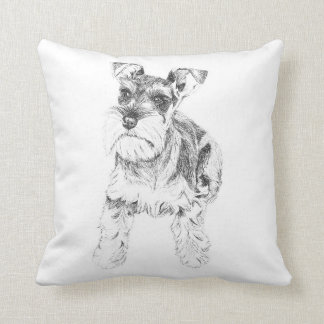 Miniature Schnauzer Cushion