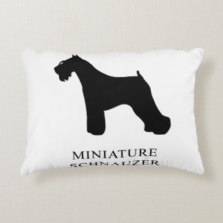 Miniature Schnauzer Decorative Pillow