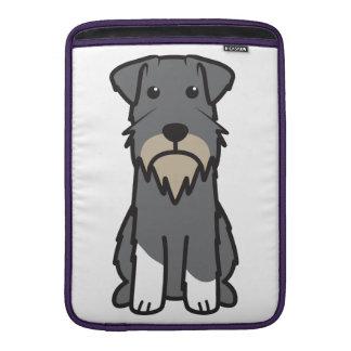 Miniature Schnauzer Dog Cartoon Sleeve For MacBook Air