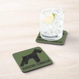 Miniature Schnauzer Drink Coasters