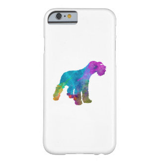 Miniature Schnauzer in watercolor Barely There iPhone 6 Case