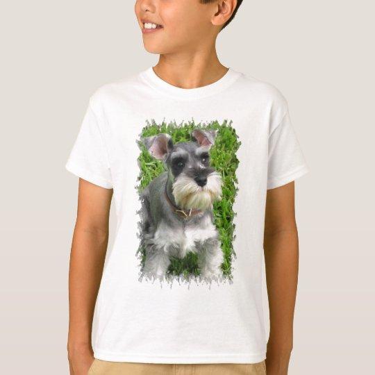 Miniature Schnauzer Kid's T-Shirt