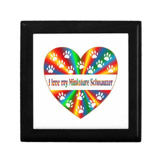Miniature Schnauzer Love Gift Box