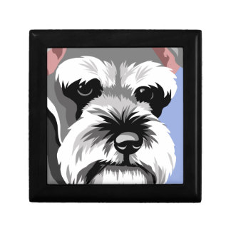Miniature Schnauzer Lover Gifts Jewelry Boxes