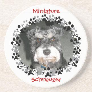 Miniature Schnauzer Photo Coasters
