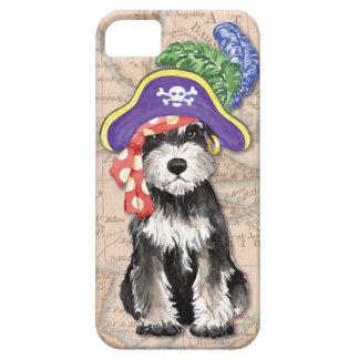 Miniature Schnauzer Pirate iPhone 5 Cases