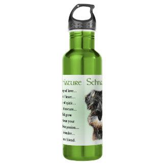 Miniature Schnauzer Puppy Heritage 710 Ml Water Bottle