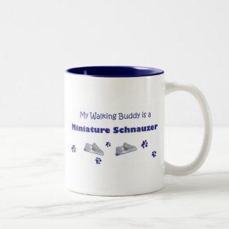 Miniature-Schnauzer Two-Tone Coffee Mug