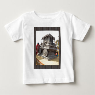 Miniature statues stone craft temples of india baby T-Shirt