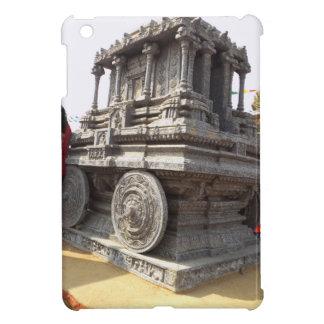 Miniature statues stone craft temples of india case for the iPad mini
