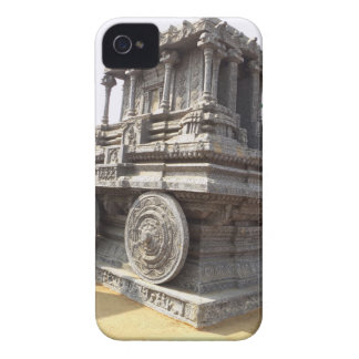 Miniature statues stone craft temples of india iPhone 4 Case-Mate cases