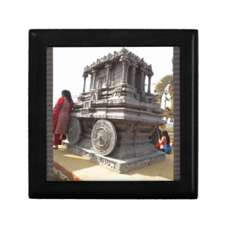 Miniature statues stone craft temples of india keepsake boxes