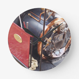 Miniature Steam Locomotive Boiler Wall Clocks