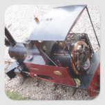 Miniature Steam Locomotive Stickers