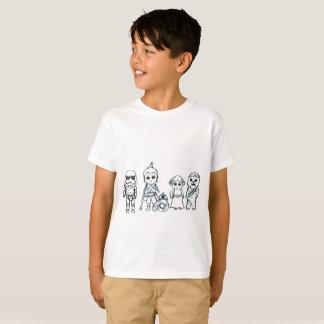 Miniature Super Galaxy Heroes T-Shirt