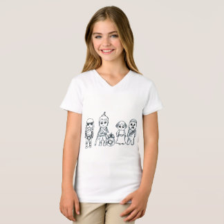 Miniature Super Heroes of Galaxy T-Shirt