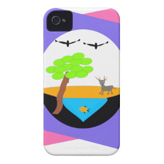 miniature world Case-Mate iPhone 4 cases