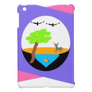 miniature world iPad mini covers