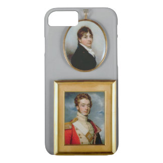 Miniatures of Young Officers of the 38th Madras Na iPhone 7 Case