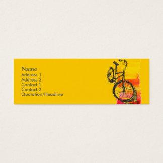 Minicard Bike Business Card