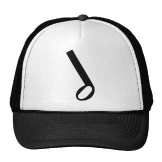 Minim Musical Note Trucker Hat
