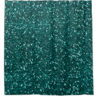 Minimal Abstract Glitter Monstera Teal Tropical