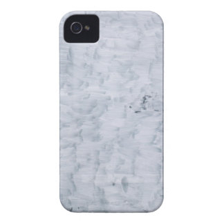 minimal abstract white paint brush texture pattern Case-Mate iPhone 4 case