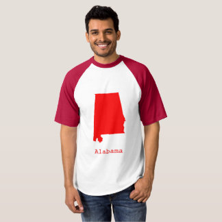 Minimal Alabama United States T-shirt