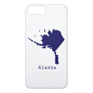 Minimal Alaska United States iPhone 8 Plus/7 Plus Case
