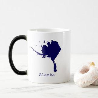 Minimal Alaska United States Magic Mug