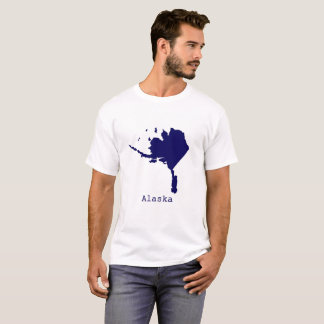 Minimal Alaska United States T-Shirt