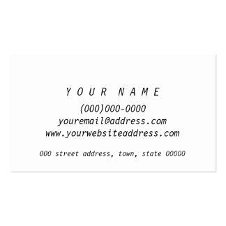 Minimal B&W Marble Sleek Classy Business Card