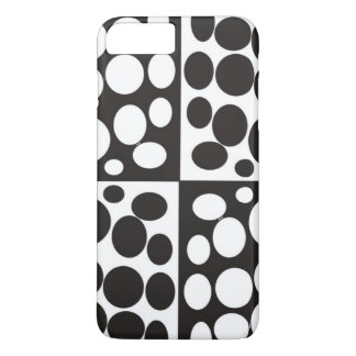 minimal black and white iphone case