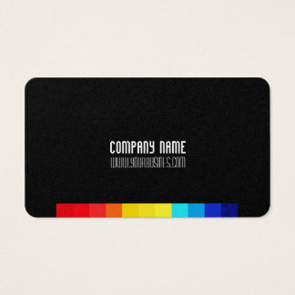 Minimal Classic Cube Business Card