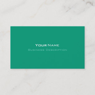 Emerald green business cards profile cards zazzle ca minimal emerald green business card reheart Gallery