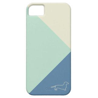 minimal geometric dachshund iPhone 5 cases
