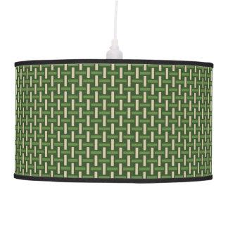 "Minimal Geometric Pattern - Japan ""Bamboo Forest"" Hanging Pendant Lamps"
