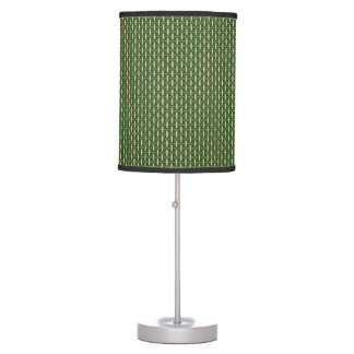 """Minimal Geometric Pattern - Japan """"Bamboo Forest"""" Table Lamps"""