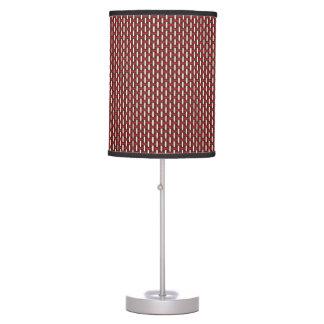 "Minimal Geometric Pattern - Japan ""Cherry Blossom"" Table Lamps"