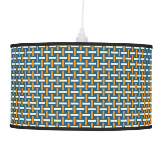 "Minimal Geometric Pattern - Japan ""Hazy Sunshine"" Ceiling Lamp"