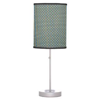 "Minimal Geometric Pattern - Japan ""Hazy Sunshine"" Table Lamps"
