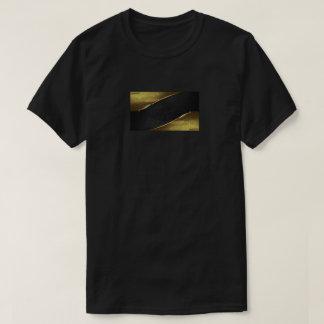 minimal gold - black Lyons design j235 T-Shirt