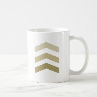 Minimal Gold Chevrons Coffee Mug