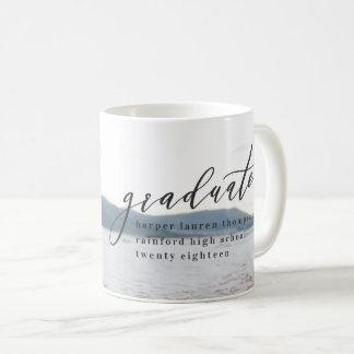 MINIMAL GRADUATION COFFEE MUG